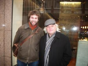 René Eespere und ich in Münster Ende 2013