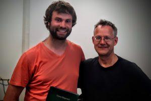 mit Tilman Hoppstock am 5.6.16 in Münster